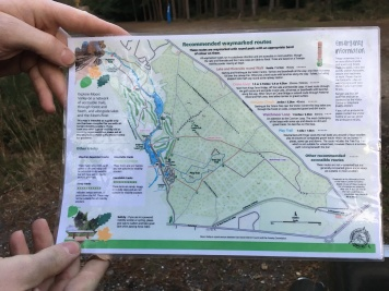 Moors Valley Countryside Map - Front
